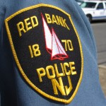 red bank, nj, police, arm patch