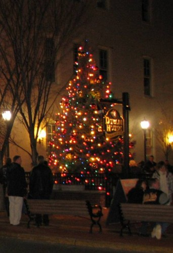 Christmas Tree Lighting In Red Bank Nj : Got an extra tree lying around red bank green