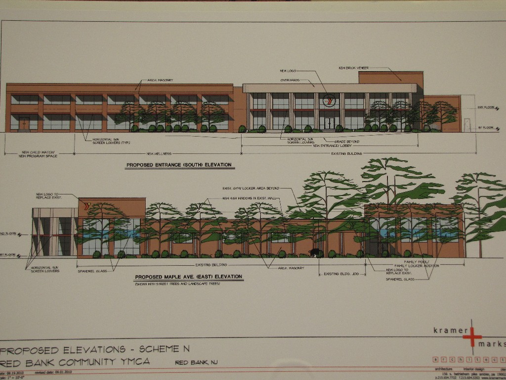 Elevation Plan Ymca : Congregation beth shalom archives red bank green
