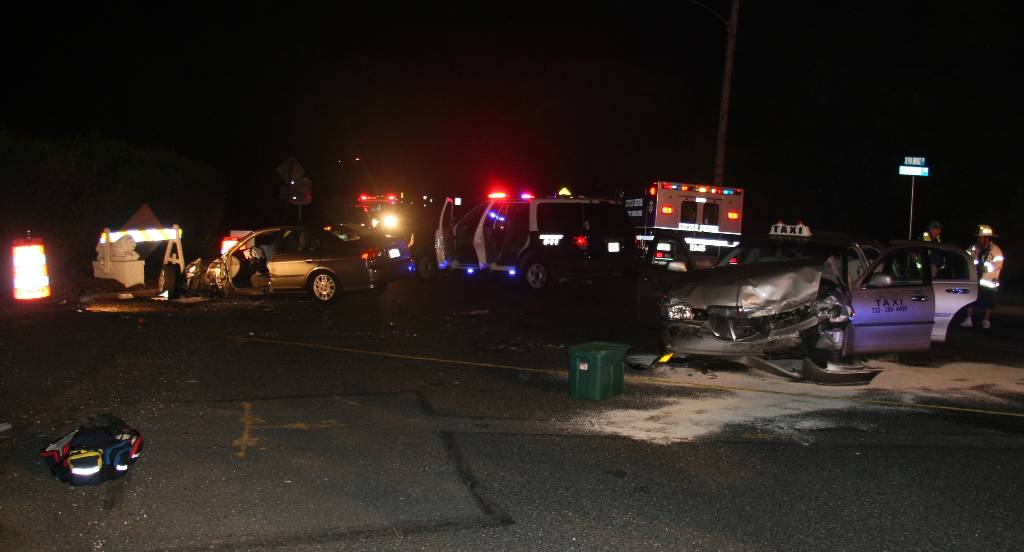 Six Injured In Little Silver Collision Red Bank Green