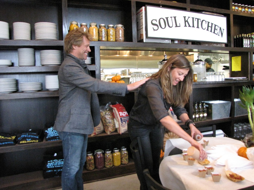 bon jovi opens soul kitchen - Jon Bon Jovi Soul Kitchen