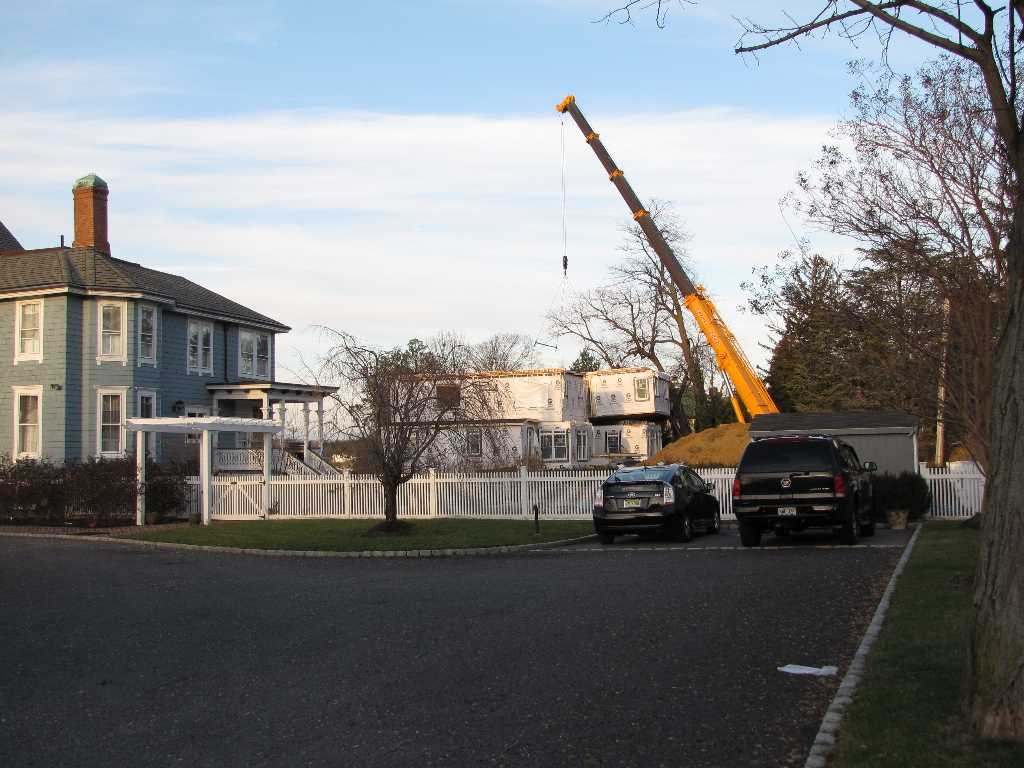 PREFAB MANSION SNAKES ITS WAY HOME - Red Bank Green