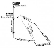 sheehan 5k course map
