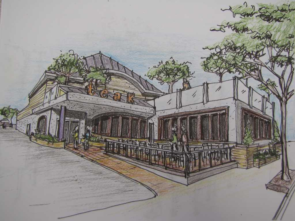 Teak plans second story and deck red bank green for 2nd story deck plans