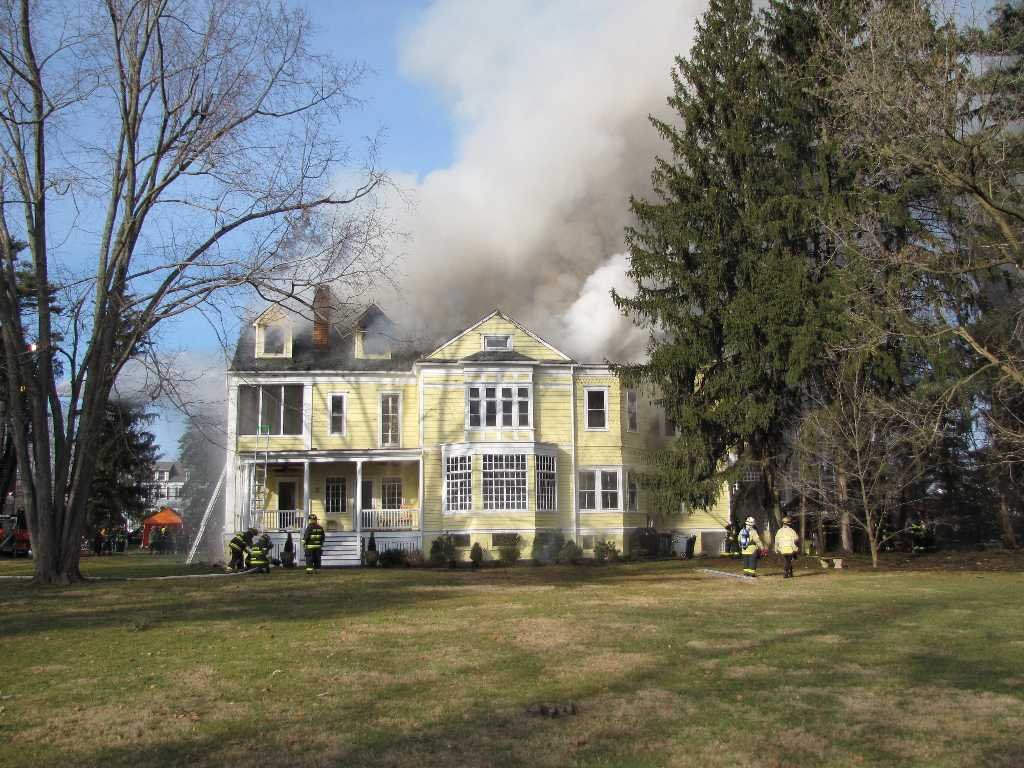 Shrewsbury House Fire Takes Heavy Toll Red Bank Green