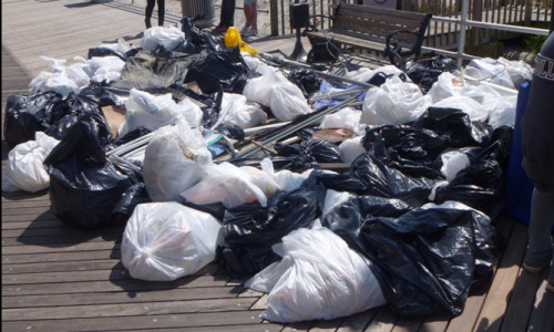 Trash from Atlantic City Sweeps_April 2012