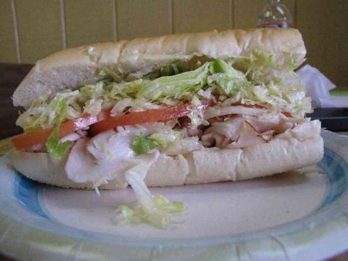 joyce's turkey sub 011514