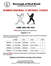 SUMMER BASEBALL FLYER