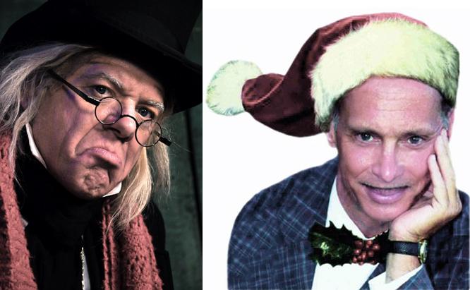 Scrooge John Waters