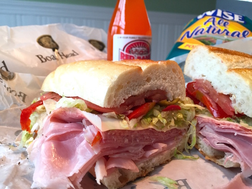red bank sub shop sandwich