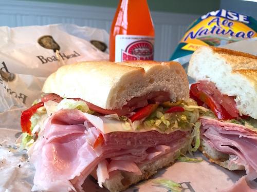 red bank sub shop sandwich