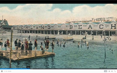 highland beach postcard