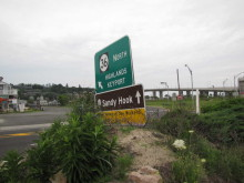 sandy hook sign 070415