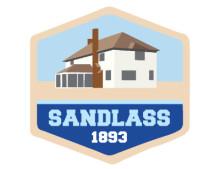 save sandlass logo
