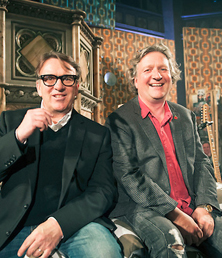 Glenn Tilbrook & Chris Difford at Union Chapel on 8 November 2014.
