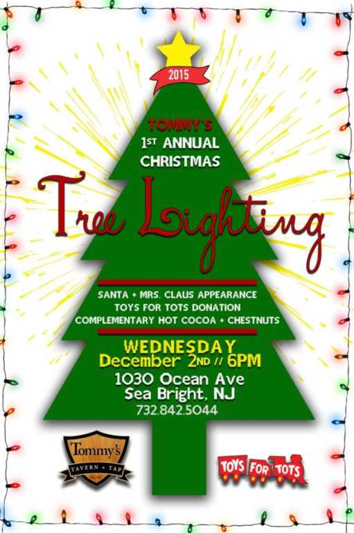 Christmas Tree Lighting In Red Bank Nj : Sea bright rumson seeking toys for tots red bank green