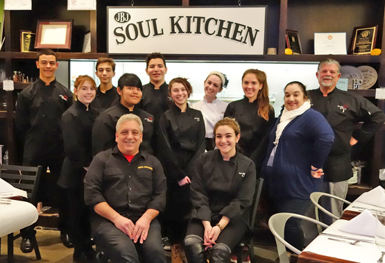 RBR students JBJ Soul Kitchen