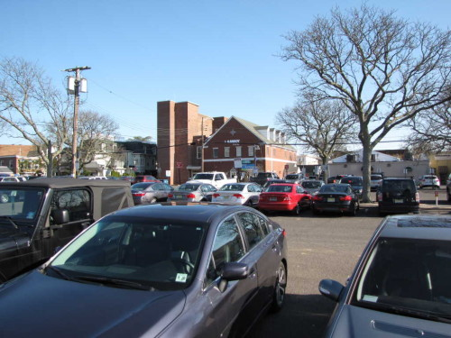 red bank, nj, white street parking lot
