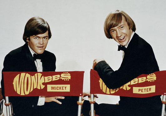 Monkees Micky Dolenz Peter Tork