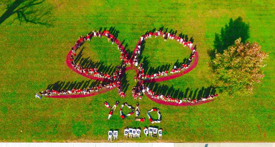 RED BANK: Middle school aerial photo is a winner in anti ...
