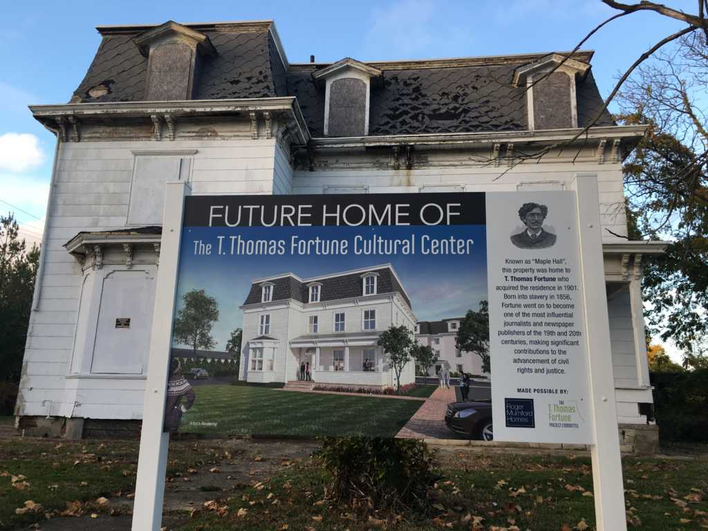 The T. Thomas Fortune House, As It Appeared In November And As Itu0027s  Expected To Appear After Rehabilitation. (Photo By John T. Ward. Click To  Enlarge.)