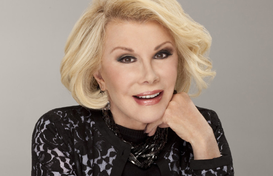 Joan Rivers' other books include I Hate Everyone ... Starting With Me and Men Are Stupid ... And They Like Big Boobs.