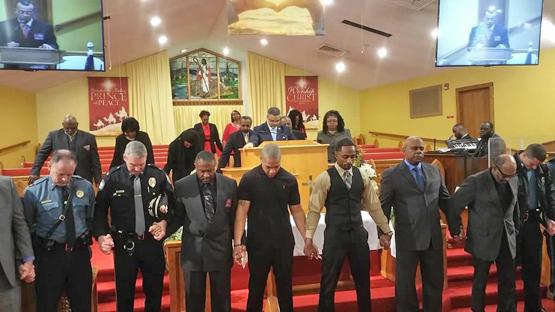 Pilgrim Baptist Law Enforcement Day