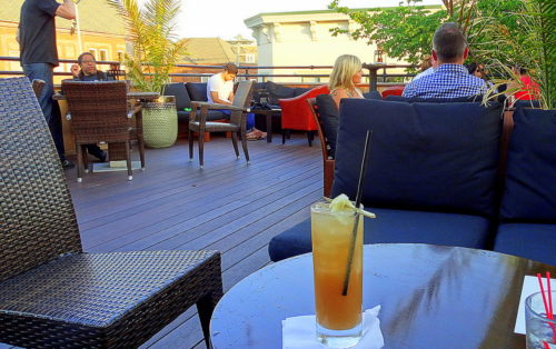 RED BANK: CHILLING AND MINGLING AT TEAK