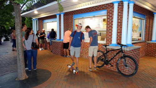RED BANK: ICE CREAM & A MOVIE
