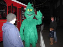 red bank, nj, holiday express, grinch