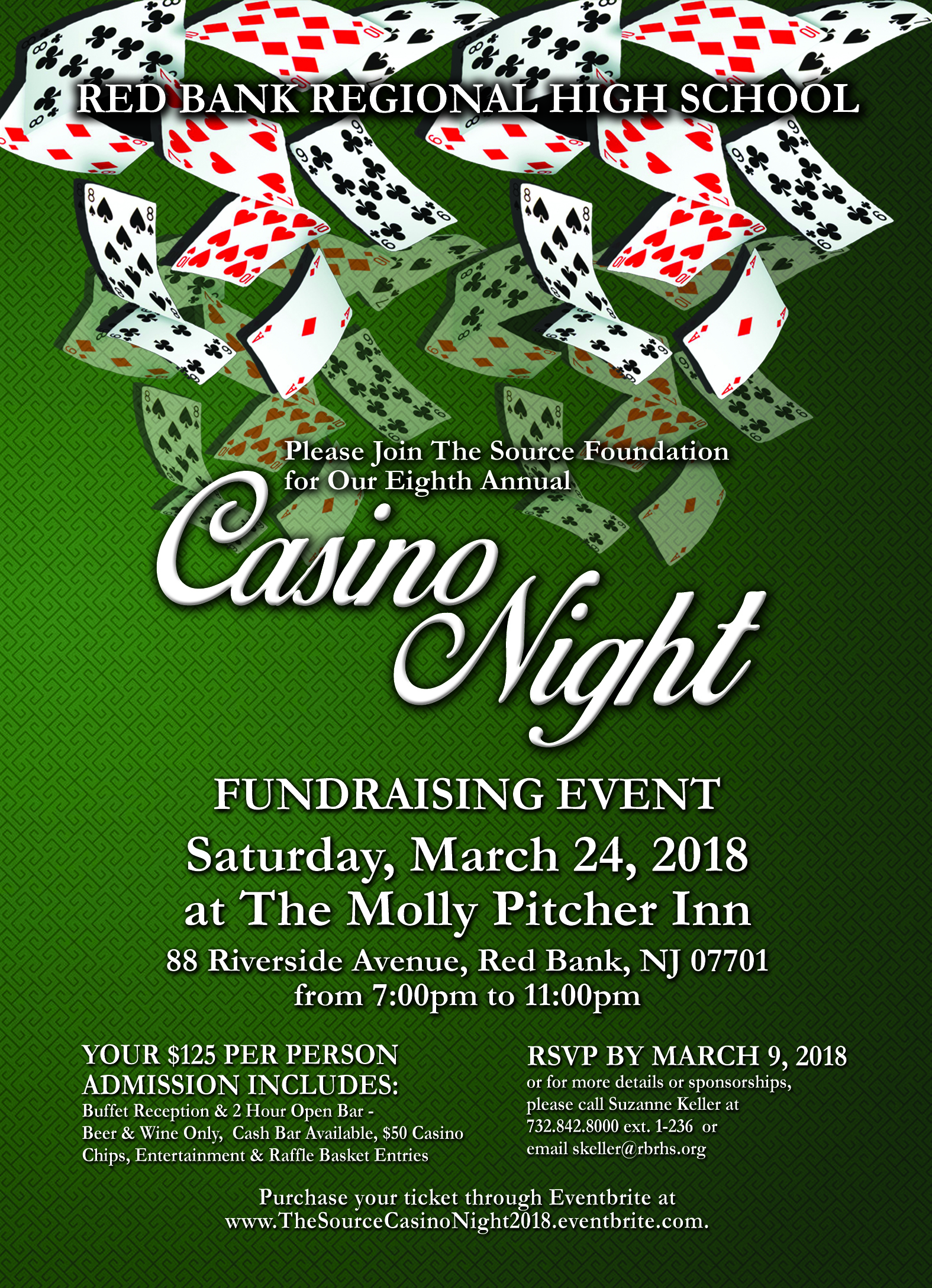 Preferred RED BANK: RBR Source Foundation holds casino night at Molly Pitcher. OH79