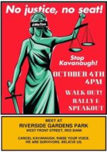 brett kavanaugh, scotus, red bank nj, greater red bank women's initiative