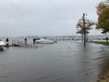 red bank, nj, marine park, flooding