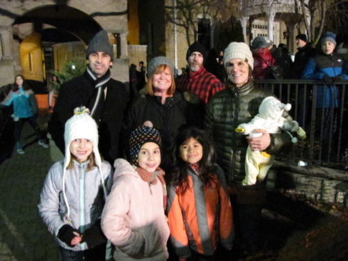 red bank nj holiday express light-up concert