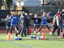 RED BANK, NJ, rivalry series, touch football, flag football