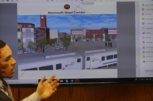 curtis mcdaniel red bank ,n rutgers student plans monmouth street