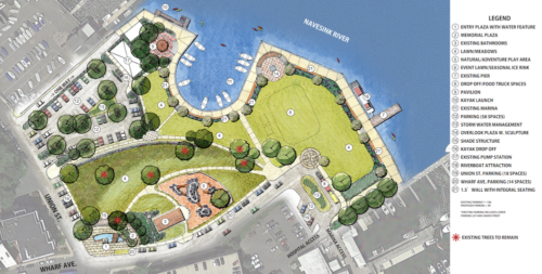 red bank marine park concept