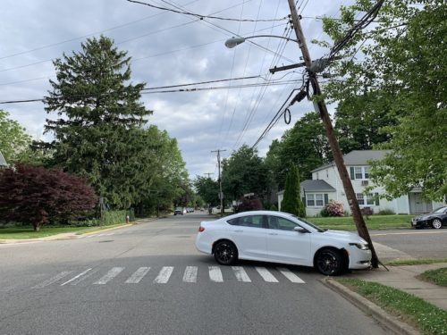 red bank car v pole spring st