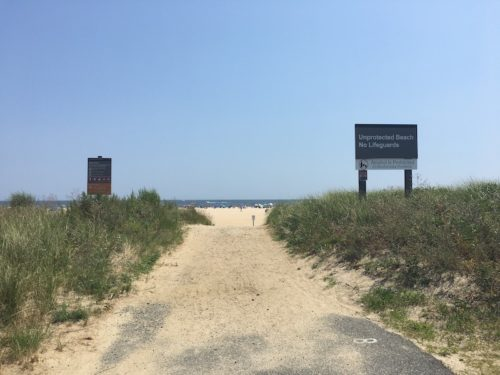 sandy hook beach gateway national