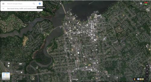 red bank google satellite map 051220