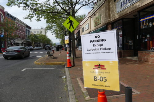 red bank pickup parking 051820