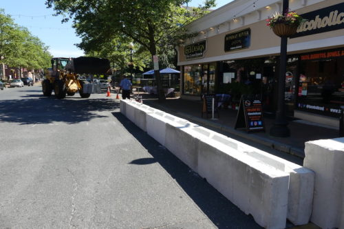 red bank parklet