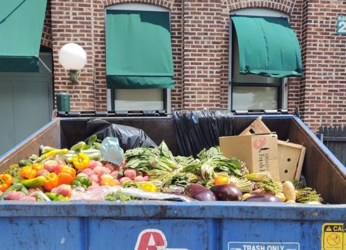 RED BANK: DUMPED PRODUCE STUNS SHOPPERS
